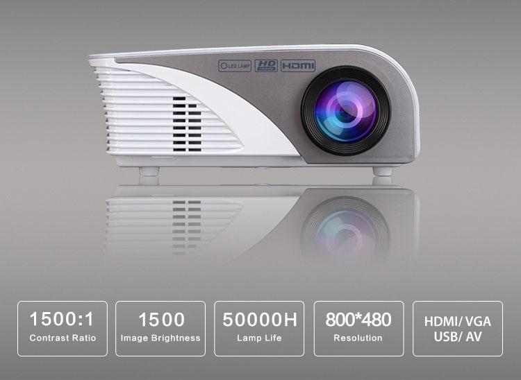 Mô tả - thông báo chất lượng trình chiếu của  trang bị  máy chiếu Tyco T1500