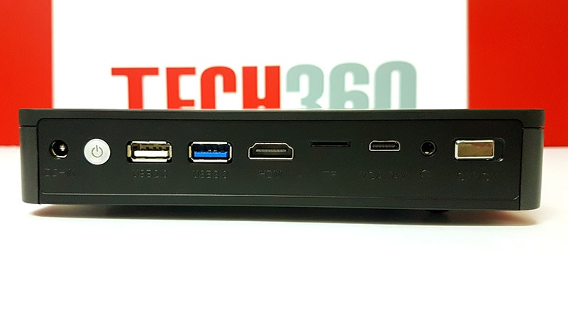 cổng kết nối của máy chiếu tyco d1600
