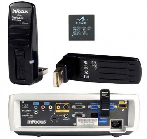 thiết bị trình chiếu không dây cho máy chiếu infocus