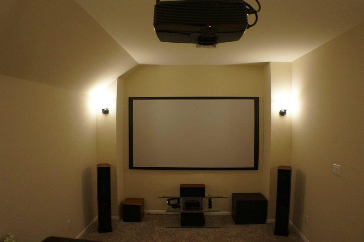 Xây dựng phòng chiếu phim tại gia với máy chiếu Optoma HD141X