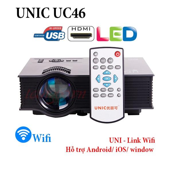 máy chiếu unic uc46