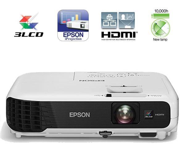 Tại sao bạn nên mua máy chiếu Epson EB-X04 cho văn phòng, lớp học