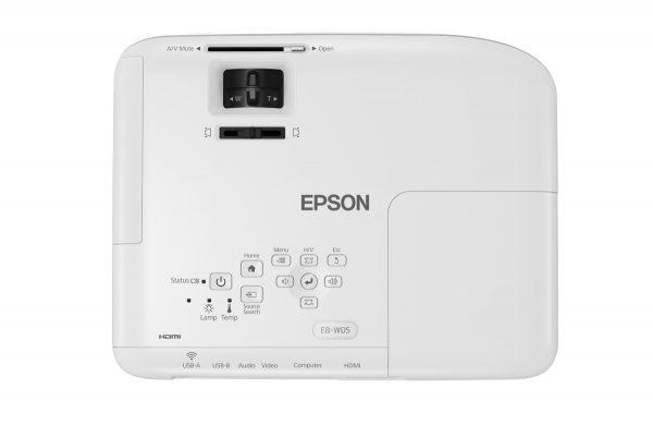 máy chiếu epson EB-W05 2
