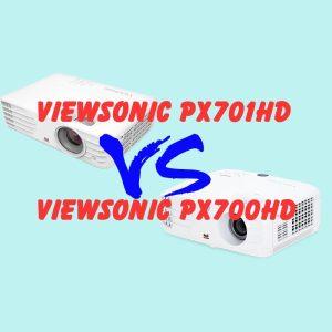 So Sánh Máy chiếu Full HD Viewsonic px700HD và ViewSonic px701HD