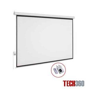 Màn chiếu điện tự động 250 inch tỉ lệ 4:3